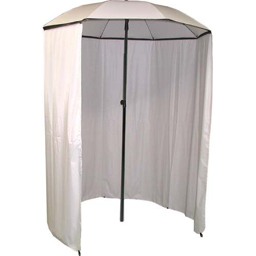 6ft Umbrella - Metal pole with detachable curtain