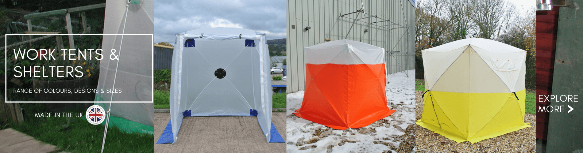 Work Tents & Shelters